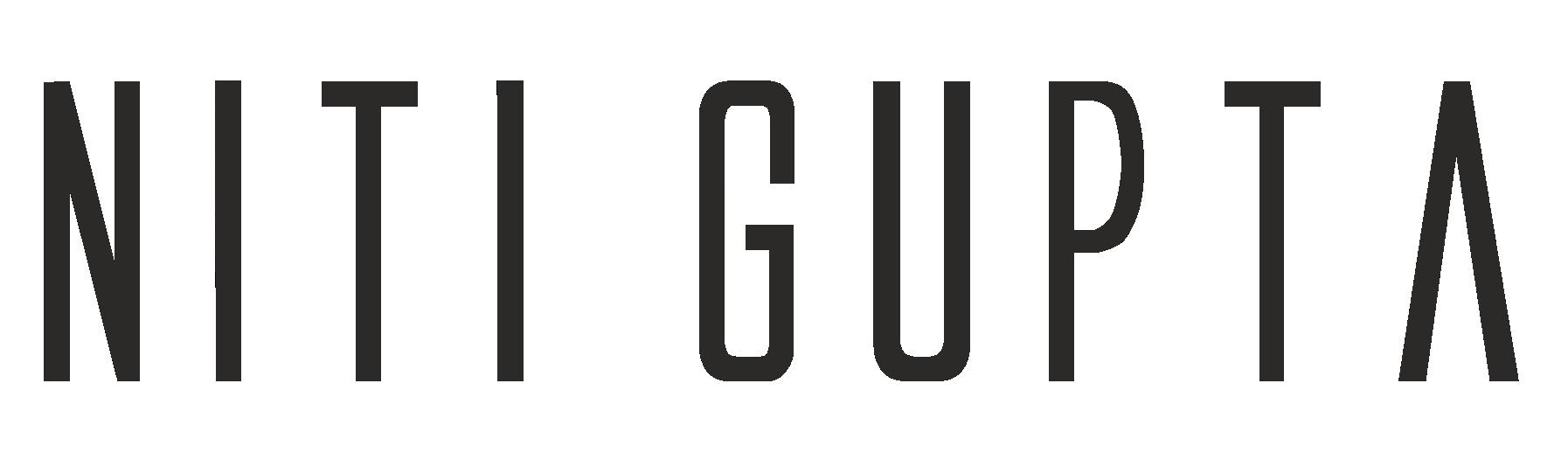 Niti Gupta | DESIGN EVANGELIST & CURATOR